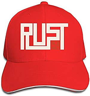 MARC Custom Rust Unisex-Adult Trucker Headwear Red