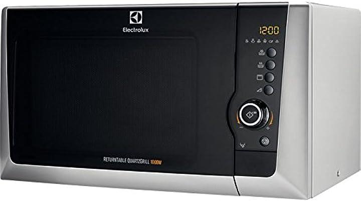forno a microonde electrolux ems28201os piano di lavoro 28l 900w argento