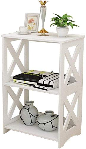 AOJIA Slim Storage Cart, 3 Tier Bathroom Organizers Slide Out Storage Shelves Mobile Shelving Unit Organizer Rolling Utility Cart with Casters Wheels for Bathroom Kitchen Laundry Narrow Places