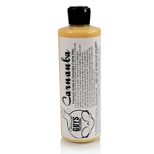 Chemical Guys WAC_103_16 Pure Carnauba Creme Wax (16 oz)