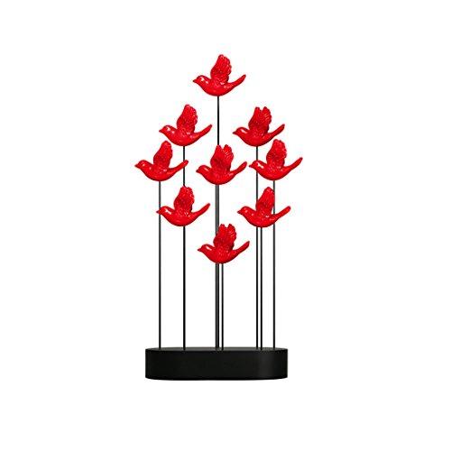 Moderne Simple Résine Sculpture Décoration Artisanat Creative Salon TV Accueil Cadeaux Artisanat Ornements GAOLILI (Color : Red, Size : A)
