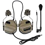 Gracy La Quinta generación de Arma del ejército táctica de Tiro Auricular Casco Militar Auricular de Aire de Paintball Auriculares, Equipos de comunicación y Accesorios