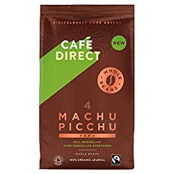 Organic Fairtrade coffee beans Arabica Coffee Beans Smooth full-bodied coffee with dark chocolate overtones Strength 4 medium and strong Ridiculously Good Coffee, Ridiculously Good Business