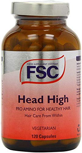 FSC FSC-150840 Head High Pro Amino - Pack of 120 Vegetarian Capsules