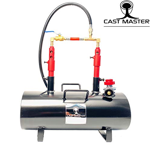 CAST Master Elite USA Portable Double Burner Propane Blacksmith Farrier Caster Kit Jewelry Large Capacity...