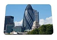 26cmx21cm マウスパッド (イギリスロンドン建物家アーキテクチャ空) パターンカスタムの マウスパッド