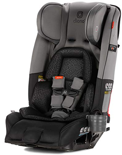 Diono Radian 3RXT All-in-One Convertible Car Seat, Dark Grey