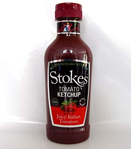Stokes Sauces, Real Tomato Ketchup Squeeze 411ml, 1 stück