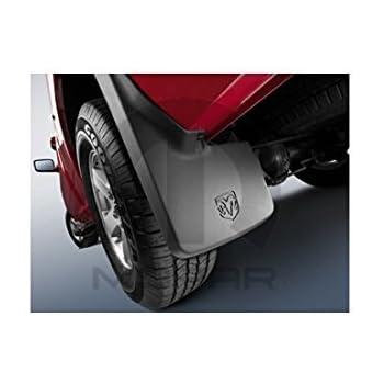 Dodge Ram Truck Mopar Molded Splash Guards For Trucks Without Fender Flares Mud Flaps Front and Rear Set of 4
