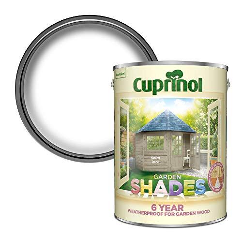 Cuprinol CUPGSHON1L 1 liter trädgårdsskärmar – olivträdgård 5 L Natural Stone