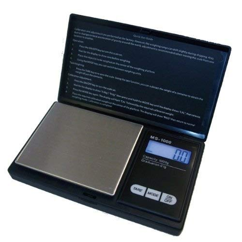 Durshani 1000g/0,1g Taschenwaage Feinwaage Digitalwaage Goldwaage Münzwaage Waage by