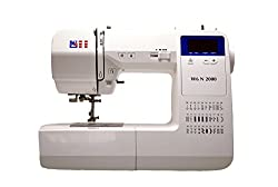 W6 VALUE WORK N 2000 computer sewing machine (sewing, patching, quilting (30 programs)) white