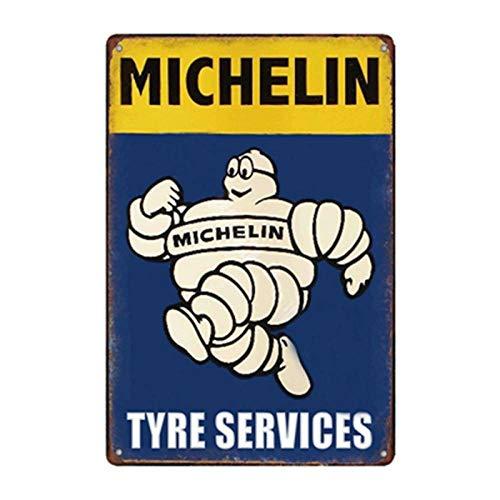 N/B Motoröl Plakette Vintage Metall Zinn Zeichen Garage Tankstelle dekorative Reifenservice Retro Wandkunst Poster 3647