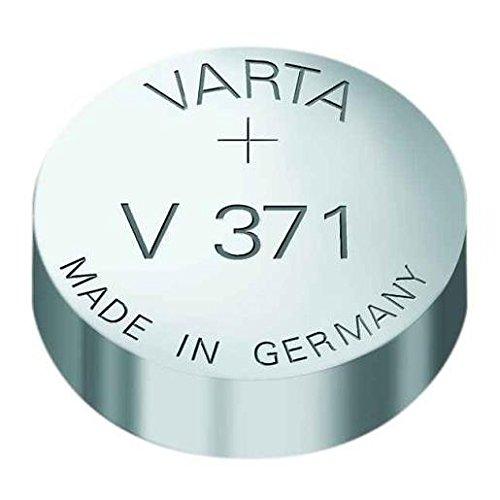 Varta  V371/SR69 Knopfzelle Silberoxid Uhrenbatterie, 1 Stück