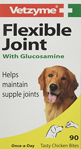 Vetzyme Flexible Joint Tablets with Glucosamine, Pack of 90