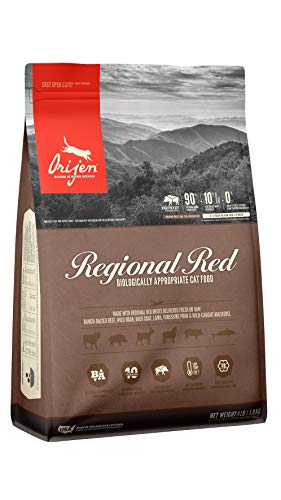 ORIJEN Dry Cat Food, Regional Red