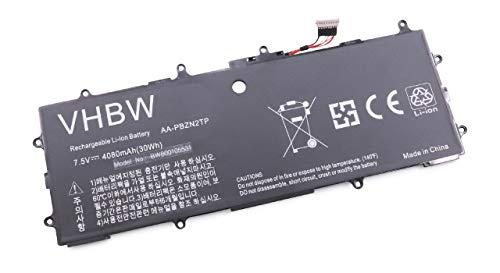vhbw Batterie Compatible avec Samsung ATIV 500T, Book 9 Lite 910S3L, Smart PC Laptop (4080mAh, 7.5V, Li-Polymère)