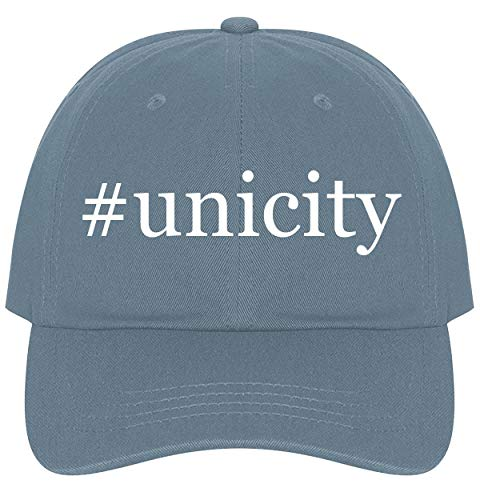 The Town Butler #Unicity - A Nice Comfortable Adjustable Hashtag Dad Hat Cap, Light Blue