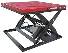 DAYTON 38TJ93 Scissor Lift Table, 3500 lb., Electric