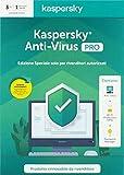 kaspersky - anti virus 2020 3 utenti pro