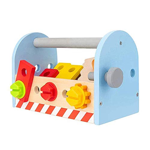 HRTX Hölzerne Kinder Demontage Tool Box...