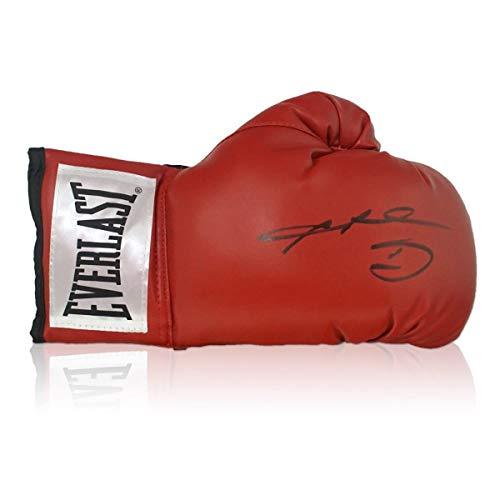 exclusivememorabilia.com Guante de Boxeo Firmado por Sugar Ray Leonard
