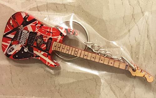 Schlüsselanhänger Gitarre Frankenstein Van Halen