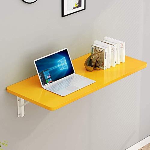 Montado en la pared mesa plegable Montado en la pared de alas abatibles tabla, flotante pequeño escritorio de madera escritorio de trabajo escritorio de la computadora, for Office / lavadero estante p