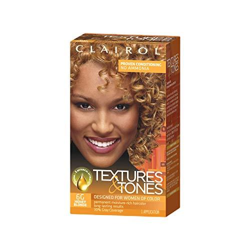 Clairol Professional Textures & Tones Permanent Hair Color, 6g Honey Blonde, 1 oz