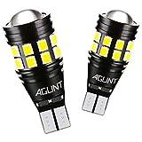 AGLINT 2X T15 W16W LED Lampadina CANBUS Nessuna Polarità 22SMD Estremamente Luminoso Auto Luce di Retromarcia Freno Parcheggio Luci Frenatura Lampadine Senza Errori T16 921 912 Bianco