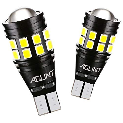 AGLINT 2X W16W T15 LED Bombillas CANBUS Error Gratuito 22SMD Alta Brillante 921 912 Para Coche Luz de Estacionamiento Copia de seguridad Luz de Marcha Atrás Bombilla 6500K Xenon Blanco
