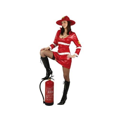 Costume da pompiere sexy da donna XL