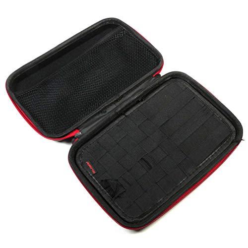 Coil Master KBag Mini, kleinere Tasche für E-Zigarette, E-Liquid & Zubehör, schwarz-rot