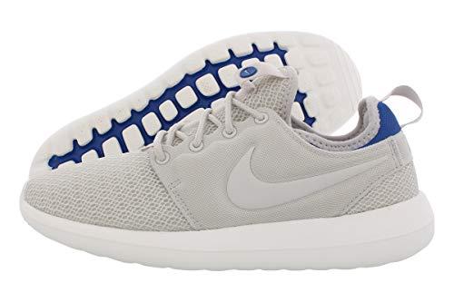 Nike Roshe Two Running Women's Shoes, Light Bone / Blue Jay, 8