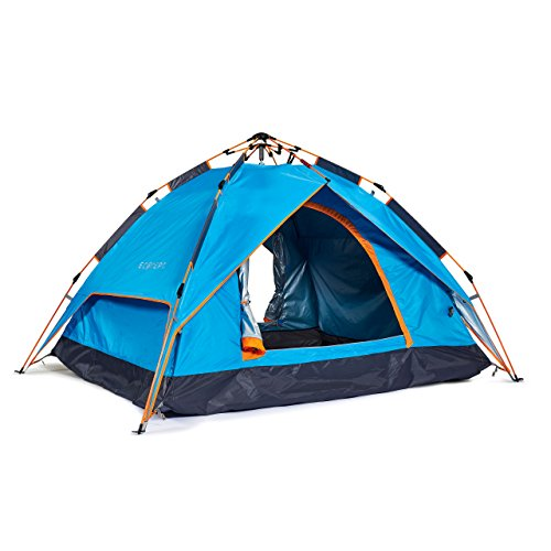 ECOdept Instant Dome Tent ~ Pitch Fast with Pop Up Design ~ Dual Layer...