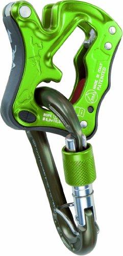 Climbing Technology Sicherungs-Karabiner für die Verwendung mit Seilen, Unisex - Erwachsene, Click Up Kit, grün