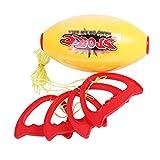 Balle d'entraînement Balle de réaction - vitesse de la réaction cervelle jeu Sports Pull Ball Coordonnées Capacité Flexible Education intérieure et extérieure Lancer des jouets for enfants Entraîneur