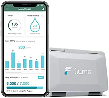 Flume 2 Smart Home Water Monitor and Water Leak Detector