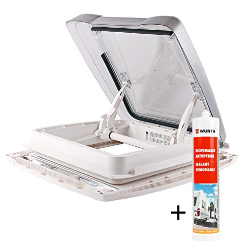 MPK Dachfenster Vision Star M pro klar 40x40 cm Dachstärke 25-60 mm 48P + Deklain Dichtmittel