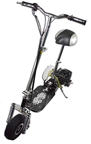 Presupuesto 49cc Mini Scooters de gasolina con suspensión