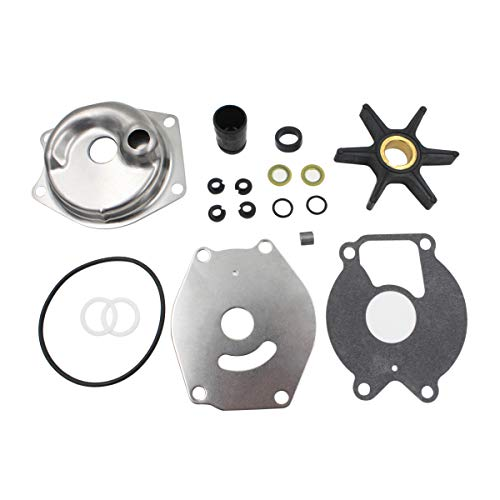 Water Pump Repair Kit for Mercury Mariner 2 Stroke 15 20 25 HP 4 Stroke 8 9.9 13.5 15 HP 46-99157T2