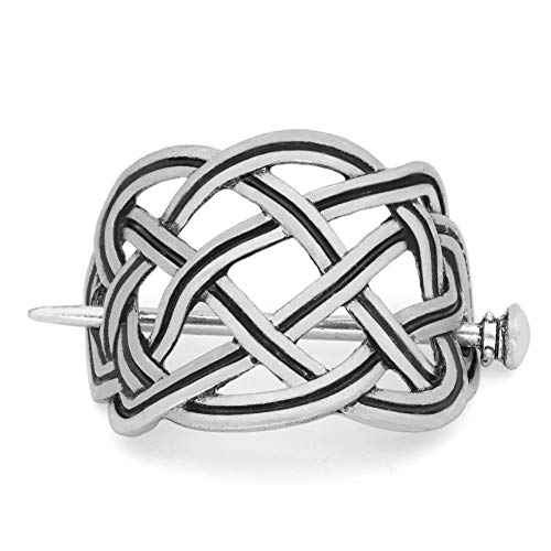 GuoShuang Celtic Knot Hairpin Hair Clips Stick Slide Accessories