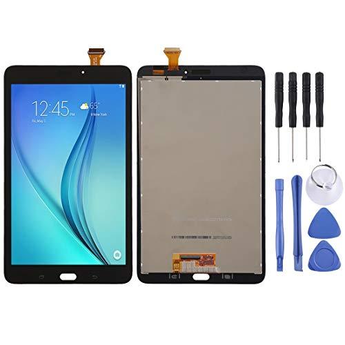 Mobiele telefoon accessoires VA LCD-scherm en Digitizer Volledige Vergadering for Samsung Galaxy Tab E 8.0 T377 (Wifi Version) (wit) (Color : Black)