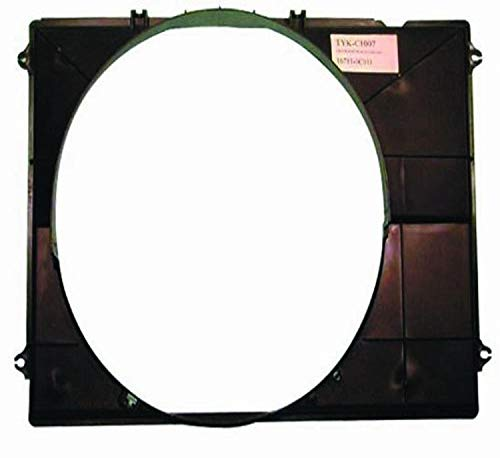 DEPO 312-55034-301 Replacement Engine Cooling Fan Shroud (This product is an aftermarket product. It is not created or sold by the OE car company)