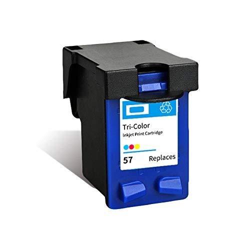 Cartuchos De Tinta 56 Negro, 57 Cartucho De Color Reemplazo Para HP 4255 5652 5608 9650 9680...
