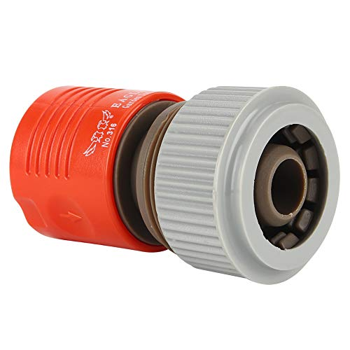 """YJYJ Garden Irrigation 3/4"""" PVC Water Hose Pipe Tap Adapter Connector Fitting 3PCS"""