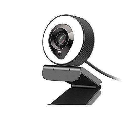 Cfiret Full HD Computer Camera 1080P, Autofocus Webcam for Gaming Conferencing, Laptop or Desktop Webcam, USB Desktop & Laptop Webcam Suitable for home, computer equipment