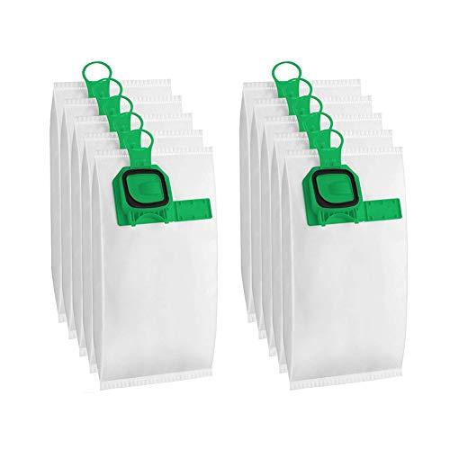 Wuudi Bolsa de filtro de polvo, bolsas de repuesto para aspiradora Vorwerk VK140 VK150