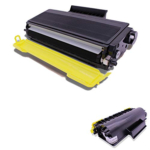 VNZQ tonercartridge TNP24, compatibel met Konica Minolta Bizhub 20 A32W011 laserprinter-tonercartridge DR-P01, Tonercartridge, Kleur: