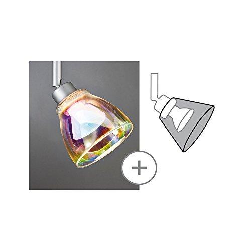 Paulmann 600.11 DecoSystems Schirm Wolbi max.50W Glas Dichroitic 60011 Glasschirm Zubehör Ergänzung